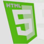 html5 3D shield Logo